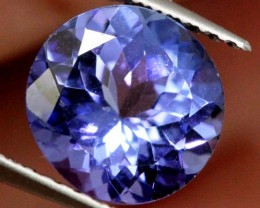 CERTIFIED TANZANITE FACETED STONE 1.86   CTS TBM-627 GC