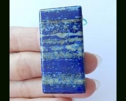 Lapis Lazuli Natural Pendant Bead ,138.5 cts
