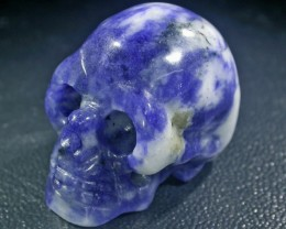 JASPER TAIDAI COLOR GEMSTONE SKULL BU264