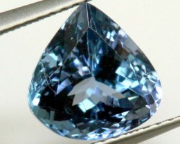 CERTIFIED TANZANITE FACETED  3.10  CTS TBM-596 GC