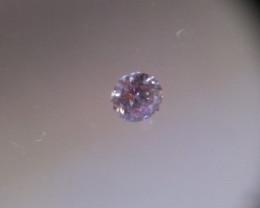 NATURAL-VERYRARE -ARGYLE PINK DIAMOND 3.8MMSIZE -1PCS