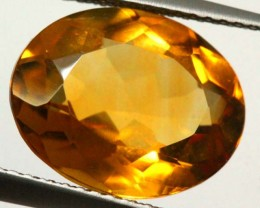 CITRINE NATURAL FACETED 5.40 CTS CG-1951