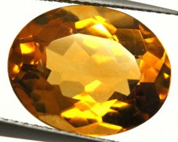 CITRINE NATURAL FACETED 6.80 CTS CG-1952