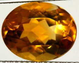 CITRINE NATURAL FACETED 4.55 CTS CG-1954