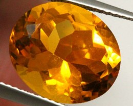 CITRINE NATURAL FACETED 6.95 CTS CG-1955