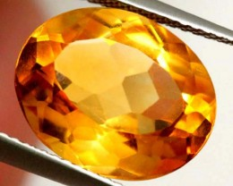 CITRINE NATURAL FACETED 6.75 CTS CG-1958
