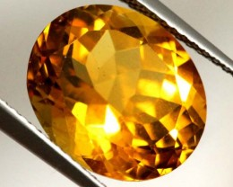 CITRINE NATURAL FACETED 5.30 CTS CG-1959
