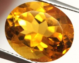 CITRINE NATURAL FACETED 5.45 CTS CG-1960