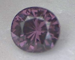2.93ct Purple with Red hue, Spinel, Burma, VVS JB6