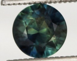 1.24 CTS - Certified - NATURAL AUSTRALIAN PARTI  SAPPHIRE [SH10]
