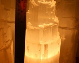 30 cm SELENITE TOWER LAMP- SHIPPING AUSTRALIA ONLY