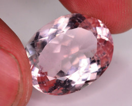 Top Quality 15.00 Ct Natural Light Pink Morganite