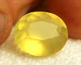 8.70 Carat Vibrant Yellow Mexican Fire Opal