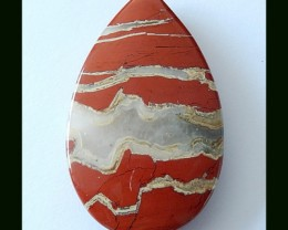 Wholesale Natural Red River Jasper Pendant Bead,85.5 Cts