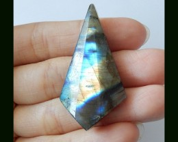 Faceted Fashion Labradorite Bead,37 Cts