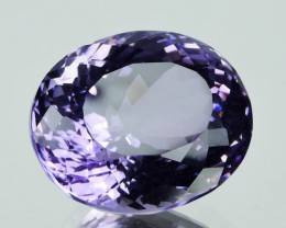 19.70  cts Natural Purple Amethyst Exquisit nice oval Cut Glister