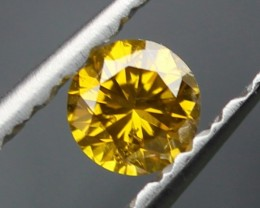 0.18 CT DIAMOND FANCY YELLOW  - VS2