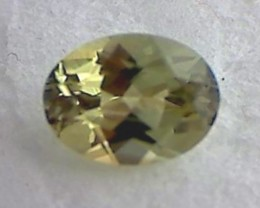 'Adorable' Yellow-Green Chrysoberyl Tanzania, 1.4ct IF/VVS A906