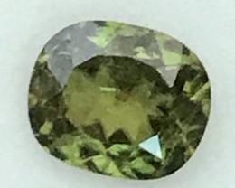 1.44 Cushion Cut Chrome Green Titanite/Sphene A539