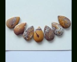 7 Cts Natural Chohua Jasper Cabochons,75 Cts