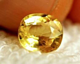 1.90 Carat Vibrant Yellow VS Sapphire - Gorgeous