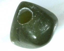 NATURAL SOLID JADE BEAD 8.35 CTS TBG-2146