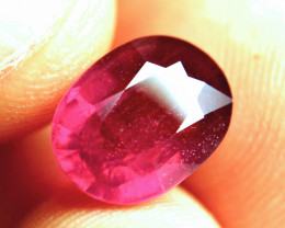 6.60 Carat Fiery Red Ruby - Gorgeous