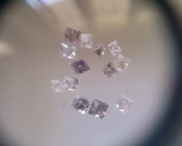 NATURAL ARGYLE PINK DIAMOND,0.72CTWLOT-13PCS-APP-5PTS EACH