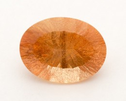 8.4ct Peach Oval Sunstone (S2348)