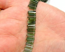 AAA+ BLUE/GREEN TOURMALINE 'DESIGNER' STICKS - STUNNING