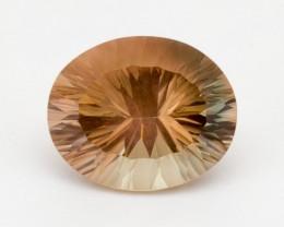 9ct Peach Oval Sunstone (S2363)