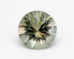 2.5ct Green Champagne Round Sunstone (S2365)