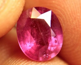 3.21 Carat Fiery Pink Ruby - Gorgeous