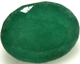 FACETED DYED EMERALD 3.17 CTS ADG-491
