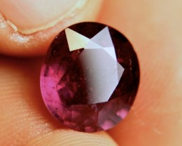 8.86 Carat Vibrant Purplish Red Ruby - Superb