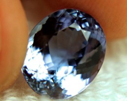 GIA CERTIFIED - 5.98 Carat Vibrant Blue IF/VVS1 Tanzanite - Gorgeous