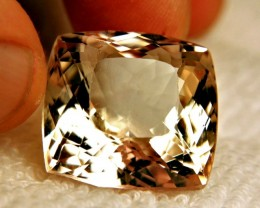 60.65 Carat VS Himalayan Greenish Gold Triphane