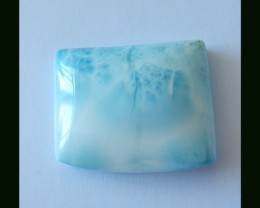 Beautiful Blue Larimar Cabochon,72 Cts
