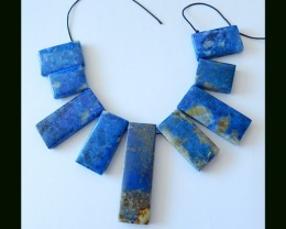 Natural Lapis Lazuli Beads Strands Necklace Beads,283.5 Cts