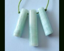 Natural Hemimorphite Pendant Beads,24 Cts