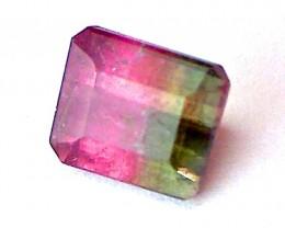 3.00ct Emerald Cut Bi-Color Tourmaline, THV264