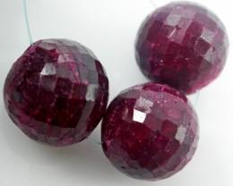 Parcel 3 Ruby Beads BU511