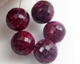 Parcel 5 Ruby Beads BU515