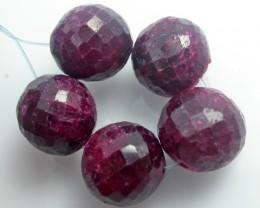 Parcel 5 Ruby Beads BU519