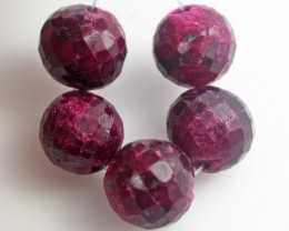 Parcel 5 Ruby Beads BU520