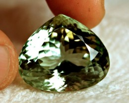 65.05 Carat IF/VVS1 Green Himalayan Spodumene - Superb
