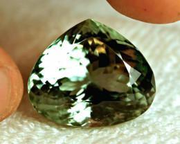 65.05 Carat IF/VVS1 Green Himalayan Spodumene - Superb