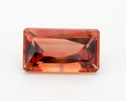 SALE WAS $14,300 ~ 13.98ct Red Rectangle Sunstone (S2400)