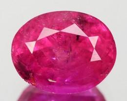 1.25 Cts Natural Corundum Pink Ceylon Sapphire VS