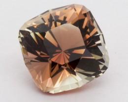 8.24ct Peach Clear Square Sunstone (S2390)
